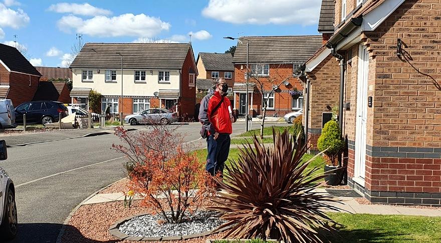 James Dawson knocking doors in Ilkeston South